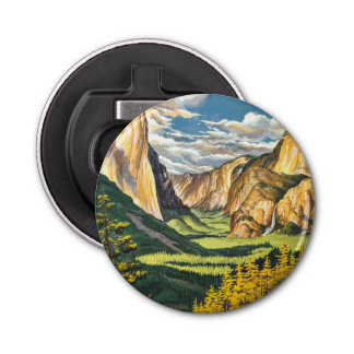Yosemite Travel Art Bottle Opener