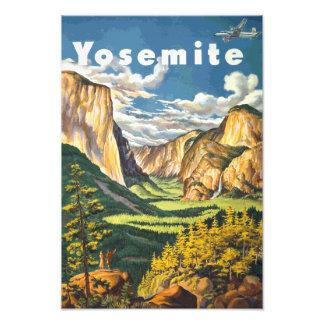 Yosemite Travel Art Photo Print