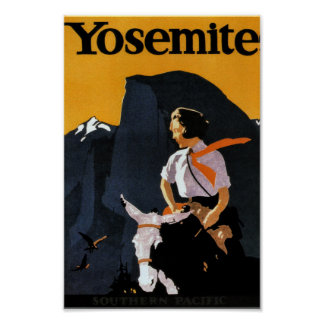 Yosemite Travel Poster