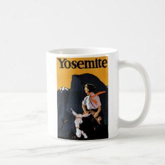 Yosemite Travel Poster Coffee Mug