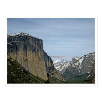 Yosemite - Tunnel View Postcard