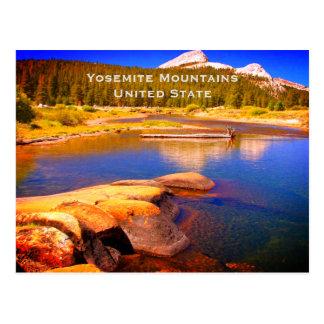 Yosemite United State Vintage Tourism Travel Add Postcard
