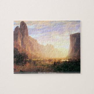 Yosemite Valley 3 by Albert Bierstadt puzzle