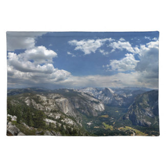Yosemite Valley and Half Dome from Eagle Peak Cloth Placemat