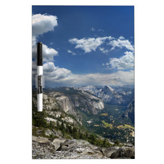Yosemite Valley and Half Dome from Eagle Peak Dry Erase Board