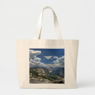 Yosemite Valley and Half Dome from Eagle Peak Large Tote Bag