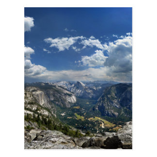 Yosemite Valley and Half Dome from Eagle Peak Postcard