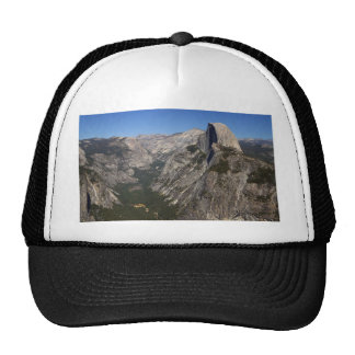 Yosemite Valley And Half Dome From Glacier Point Mesh Hats