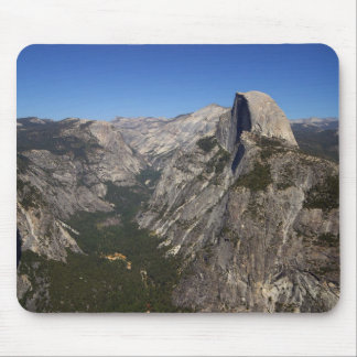 Yosemite Valley And Half Dome From Glacier Point Mouse Pad