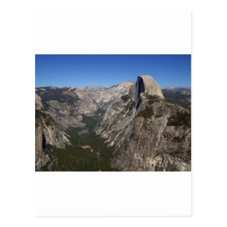 Yosemite Valley And Half Dome From Glacier Point Postcard