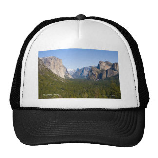 Yosemite Valley April California Products Mesh Hat