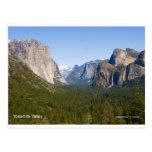 Yosemite Valley April California Products Postcard