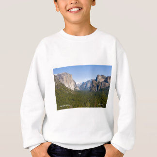 Yosemite Valley April California Products Sweatshirt