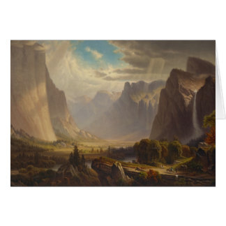 Yosemite Valley by Thomas Hill Card