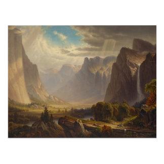 Yosemite Valley by Thomas Hill Postcard