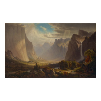 Yosemite Valley by Thomas Hill Poster
