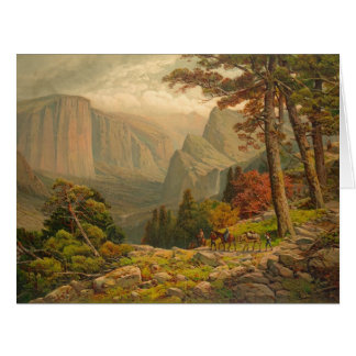 Yosemite Valley California 1887 Card