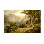 Yosemite Valley California from Mariposa Trail Postcard