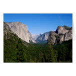 Yosemite Valley, California Greeting Card
