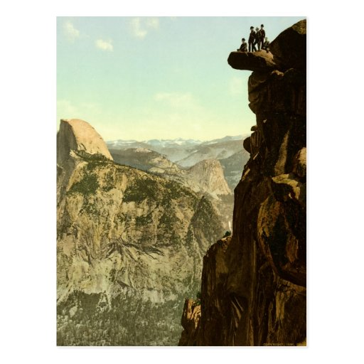 Yosemite Valley California Postcard