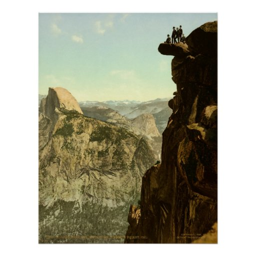 Yosemite Valley California Poster