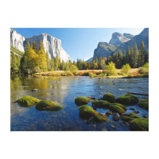 Yosemite Valley, California Stretched Canvas Print