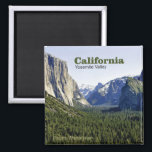 """Yosemite Valley California Travel Photo Magnets<br><div class=""""desc"""">Tip: dates added to your magnets make a fun chronology of your travels.</div>"""