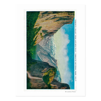 Yosemite Valley from Artist's Point Postcard