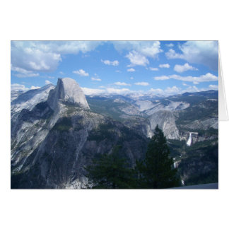 Yosemite Valley from Glacier Point Card