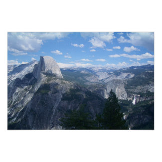 Yosemite Valley from Glacier Point Poster