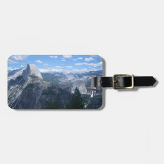 Yosemite Valley from Glacier Point Tag For Luggage