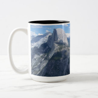Yosemite Valley from Glacier Point Two-Tone Coffee Mug