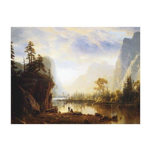 Yosemite Valley Gallery Wrap Canvas
