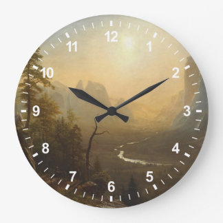 Yosemite Valley, Glacier Point Trail Large Clock