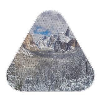 Yosemite Valley in Snow Bluetooth Speaker