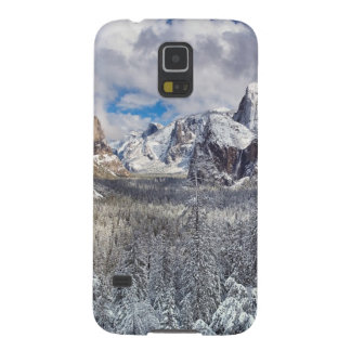 Yosemite Valley in Snow Case For Galaxy S5