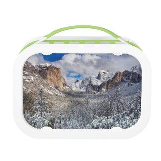 Yosemite Valley in Snow Lunch Box