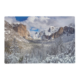 Yosemite Valley in Snow Placemat