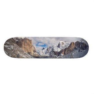 Yosemite Valley in Snow Skate Deck