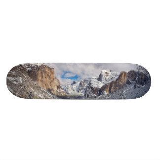 Yosemite Valley in Snow Skateboard Deck