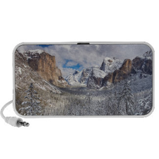 Yosemite Valley in Snow Mp3 Speakers