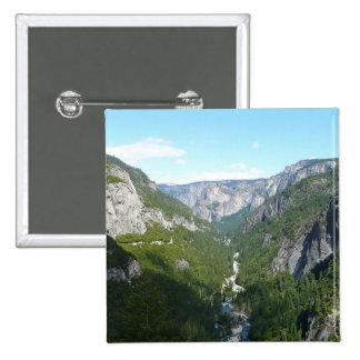 Yosemite Valley in Yosemite National Park Button