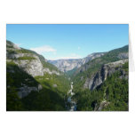 Yosemite Valley in Yosemite National Park Card
