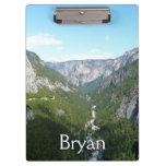 Yosemite Valley in Yosemite National Park Clipboard