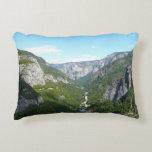 Yosemite Valley in Yosemite National Park Decorative Pillow
