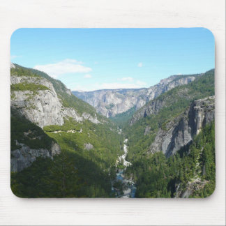 Yosemite Valley in Yosemite National Park Mouse Pad