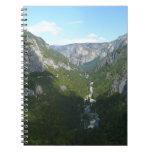 Yosemite Valley in Yosemite National Park Spiral Notebook