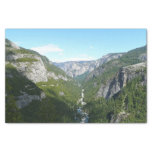 Yosemite Valley in Yosemite National Park Tissue Paper