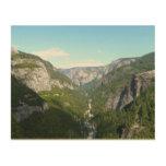Yosemite Valley in Yosemite National Park Wood Wall Decor