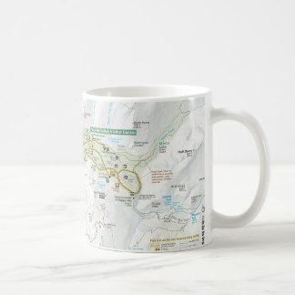 Yosemite Valley map mug